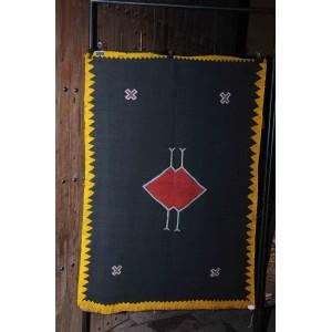 tapis noir Taznakht